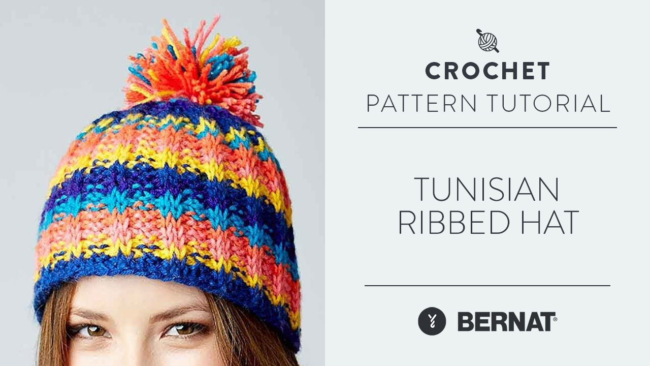 Tunisian Ribbed Hat