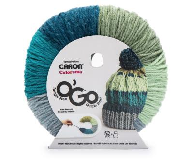 Caron Colorama O'Go yarn ball shot