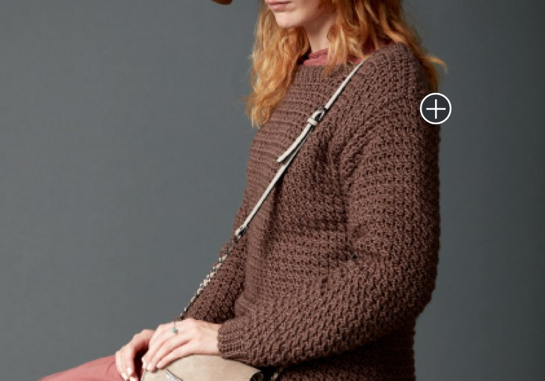 Easy Big Easy Crochet Pullover