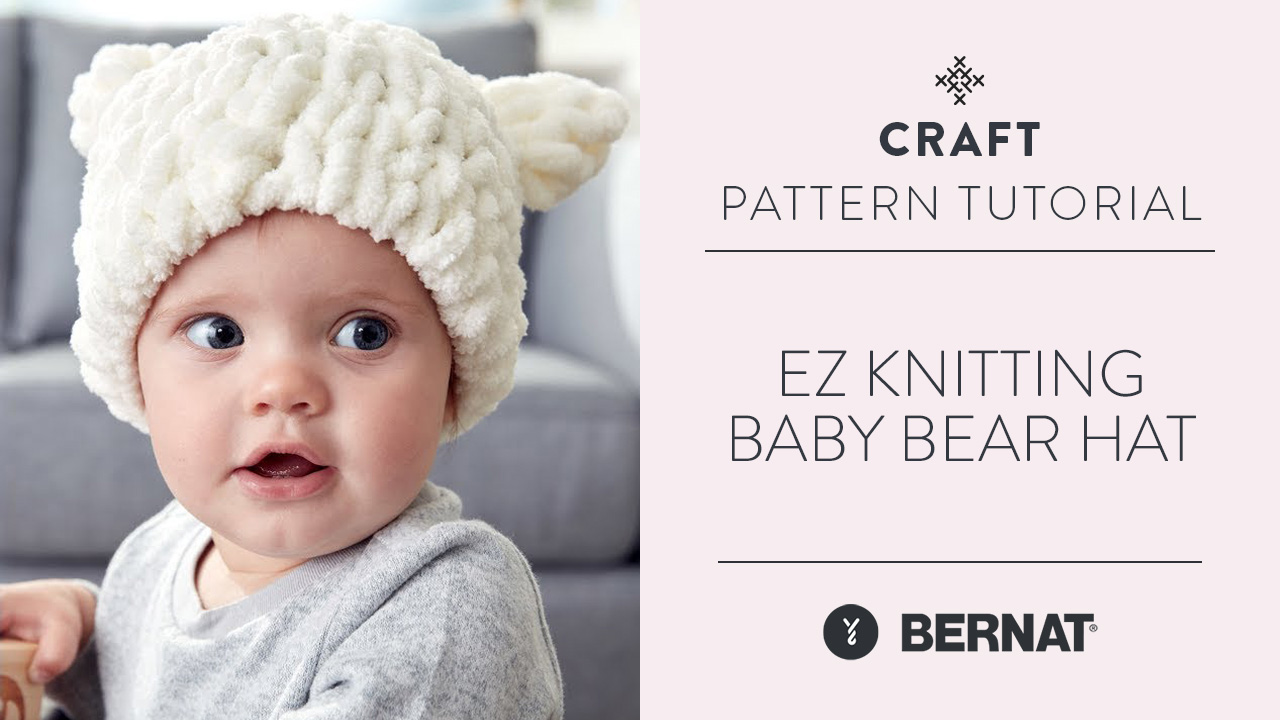 EZ Knitting: Baby Bear Hat