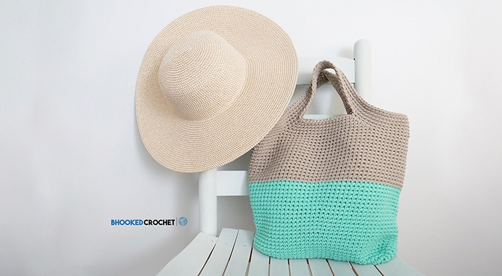 Summer Essential: Crochet Carry All Bag