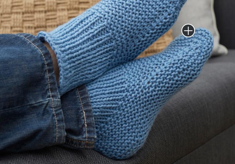 Easy Time-Off Crochet Slipper Socks
