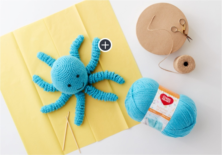 Easy Preemie Crochet Octopus