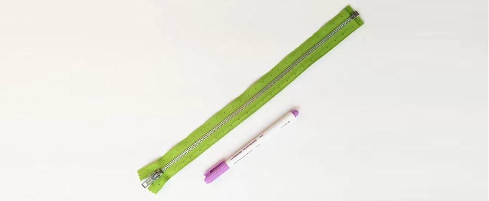 Supplies: Zipper