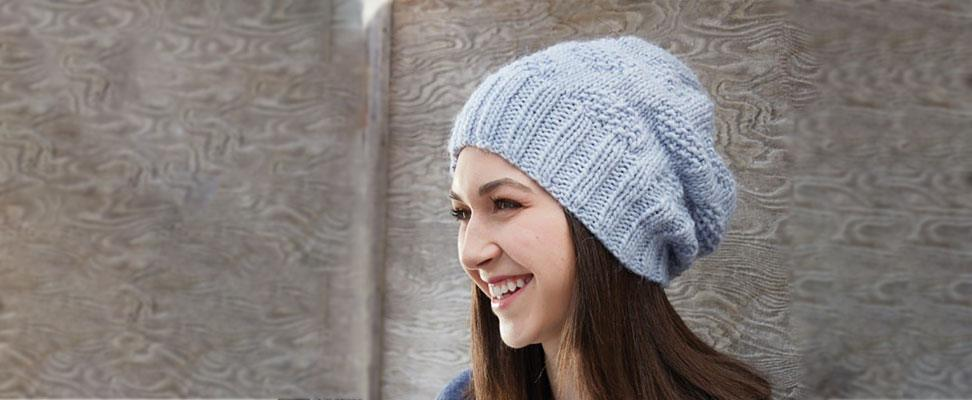 How to Knit Polka Dot Knit Hat