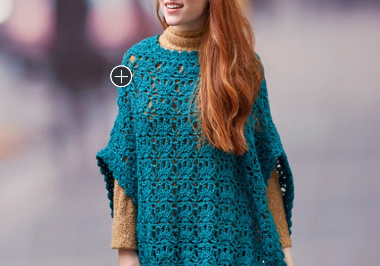 Intermediate Let's Party Crochet Poncho
