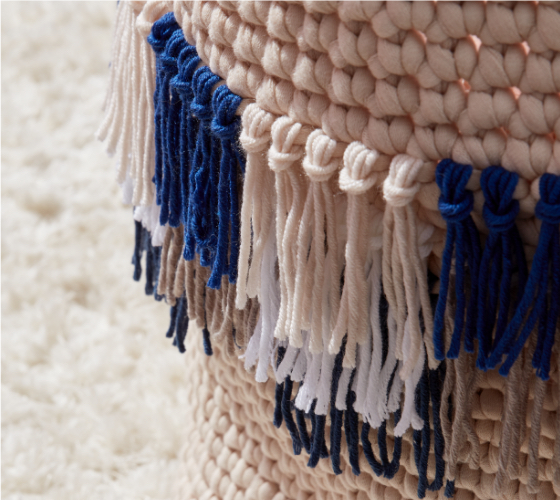 Bernat Fringe It Crochet Basket 2