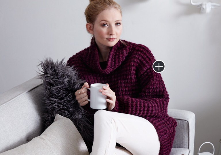 Easy Going Knit Pullover