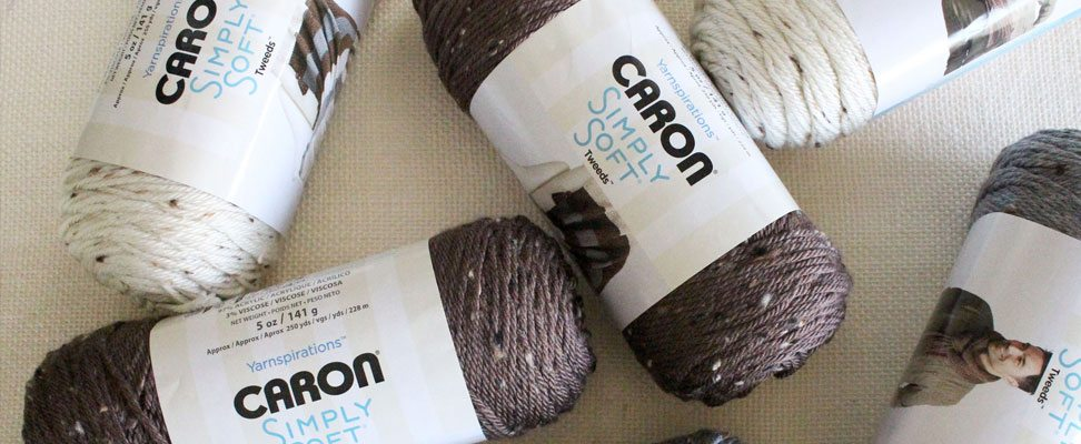 Staircase Crochet Afghan in Caron Simply Soft Tweeds