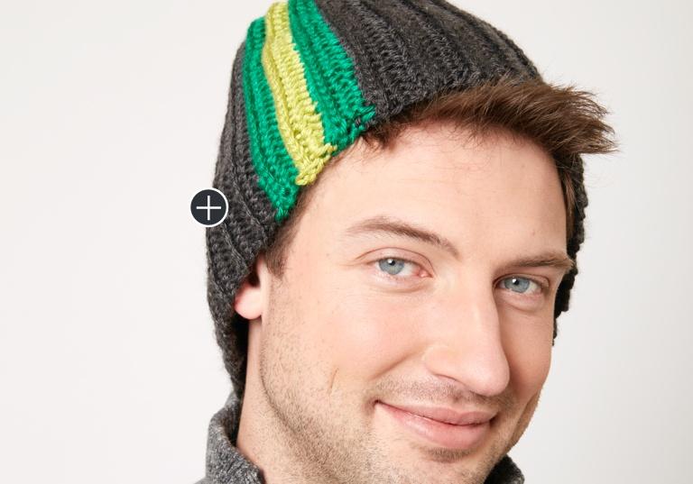 Intermediate Stripes on the Side Hat