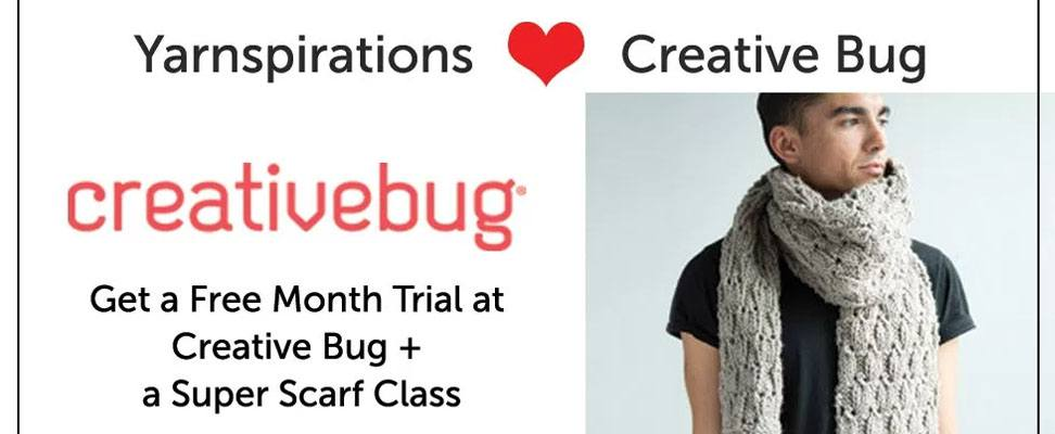 Creative Bug + Yarnspirations | Blog
