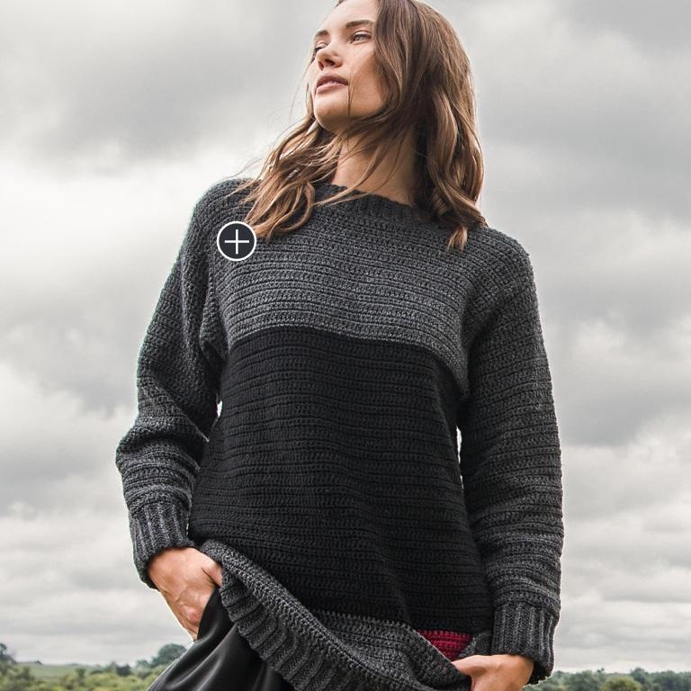 Easy Crochet Pocket Tunic