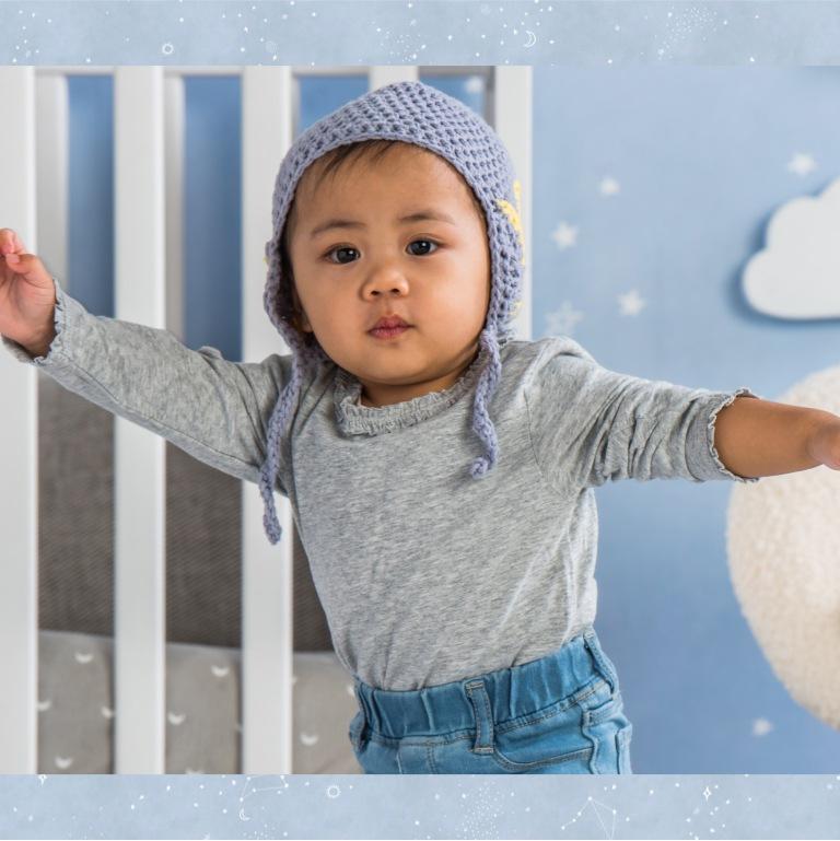 Bernat Crochet Star Baby Earflap Hat