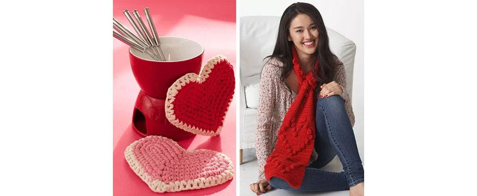 Valentine's Crochet and Knit Projects 4