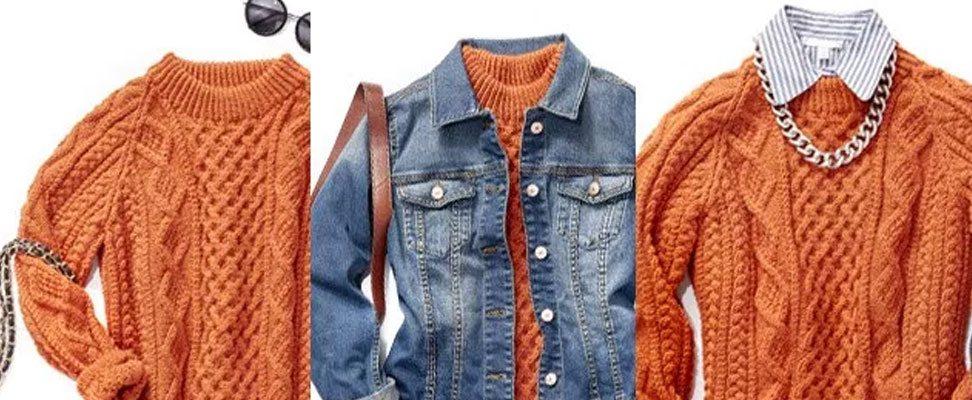 Honeycomb Aran Dress