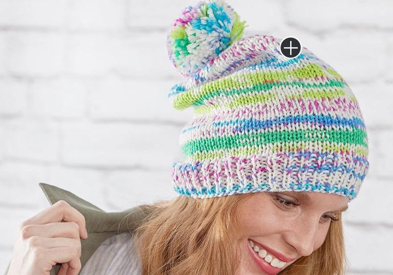 Easy Knit Fair Isle Hat