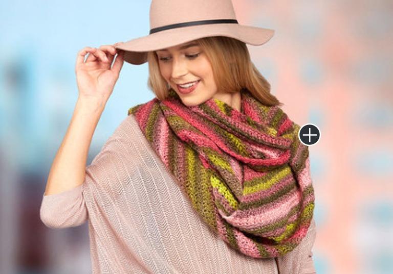 Easy Oversized Crochet Scarf