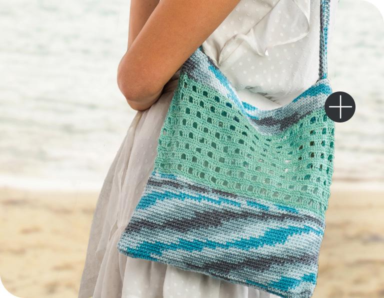 Bernat Trendy Crochet Tote