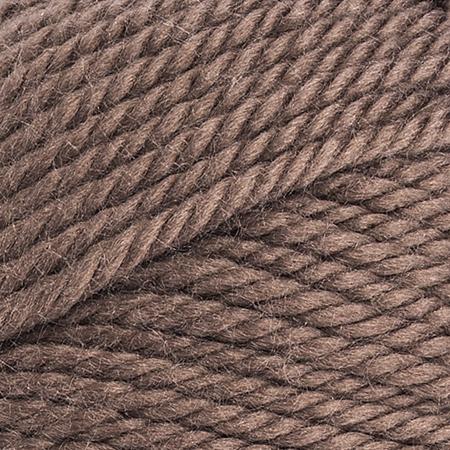 E856 Red Heart Soft Essentials yarn in 7340 Cocoa