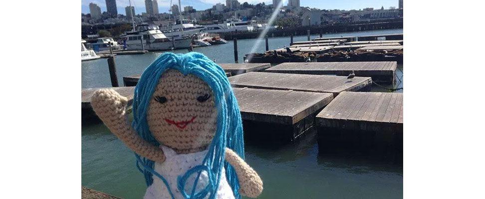 Lily Sugar'n Cream Doll at Pier 39