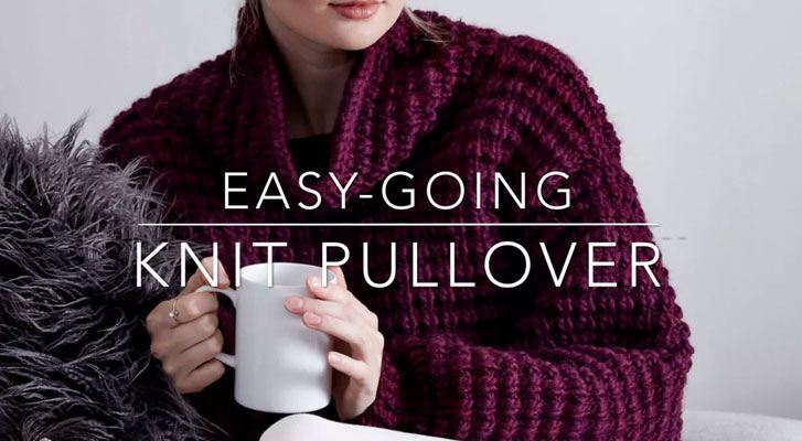 The Easy Going Knit Pullover
