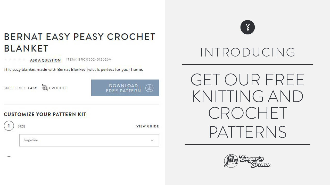 Get Our Free Knitting and Crochet Patterns