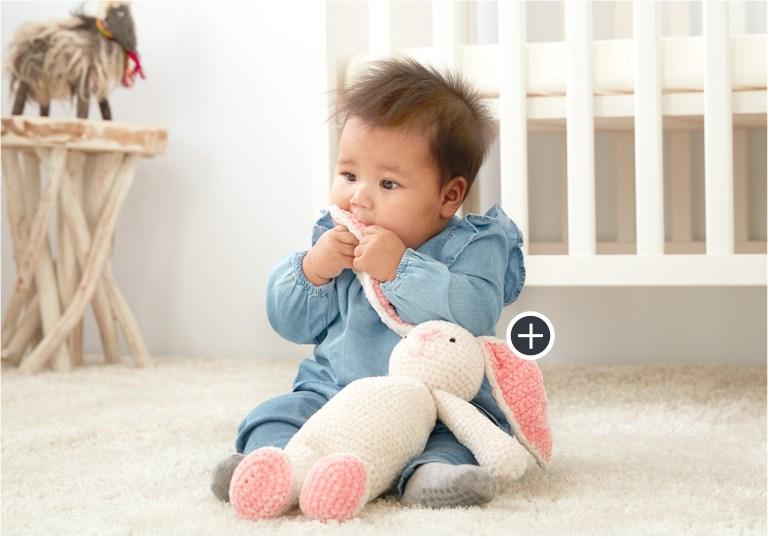Easy Crochet Velvet Bunny