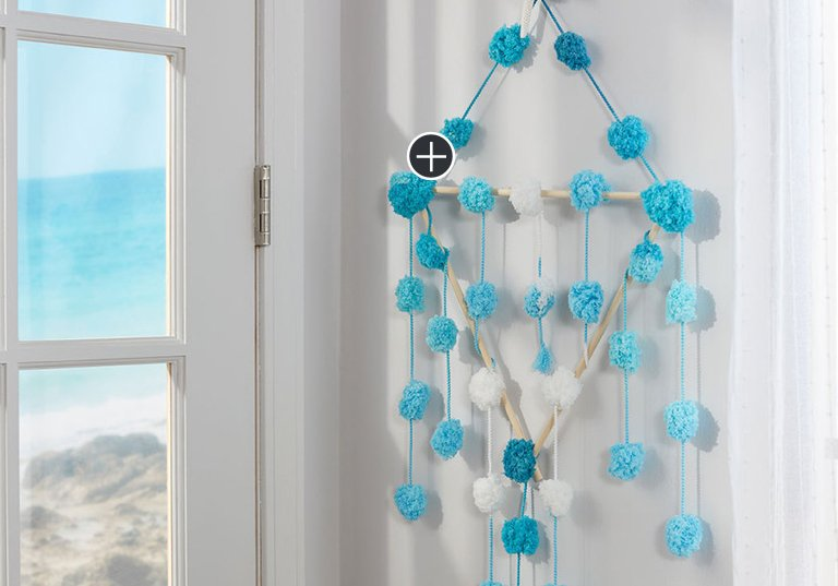 Beginner Beach Wall Hanging