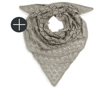 patons crochet diamond blocks shawl in in olive green color