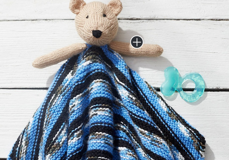 Easy Teddy Bear Knit Lovey