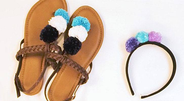 Trend Alert: Accessorize with Pompoms!