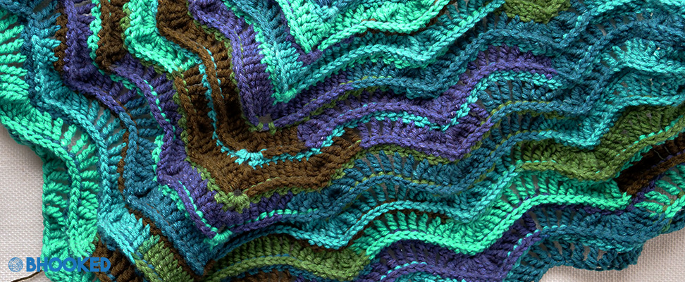Bernat Lacy Crochet Shawl