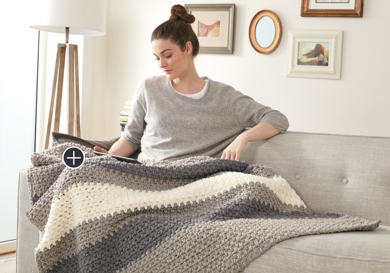Easy Hibernate Crochet Blanket