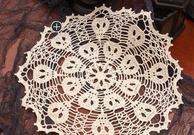 Intermediate Crochet Skulduggery Doily