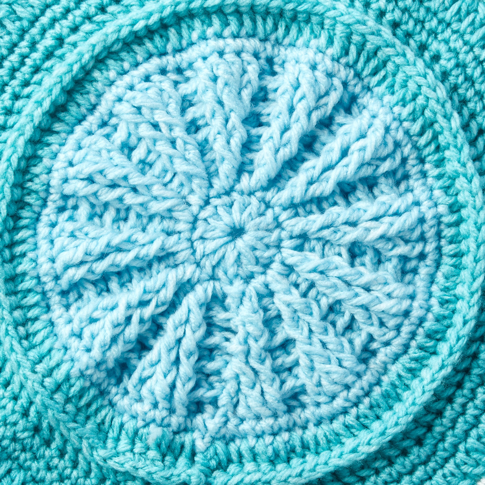 Study of Earth Afghan Crochet Along with The Crochet Crowd