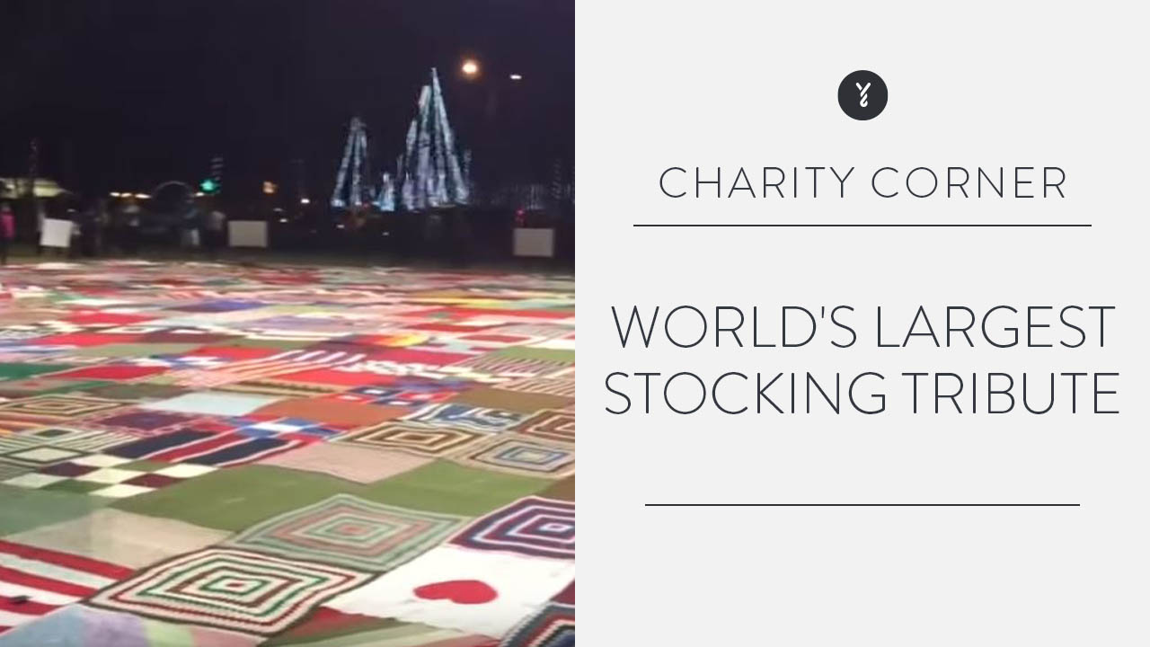 World's Largest Stocking: Tribute
