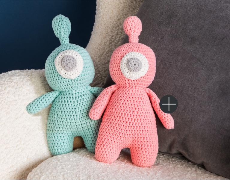 Bernat Crochet Bleep Blorp Toy