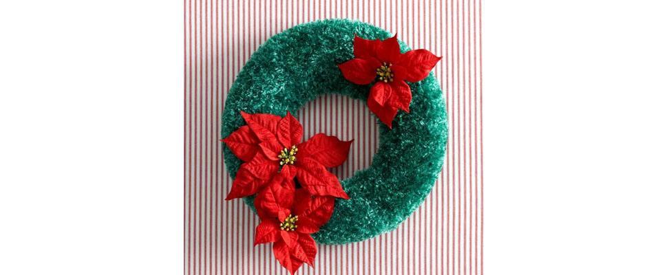 Crochet Evergreen Wreath