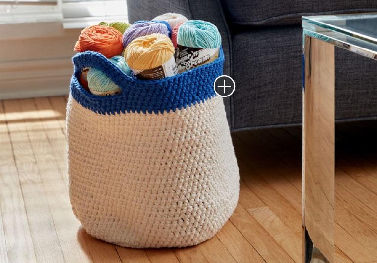 Easy Crochet Handy Basket