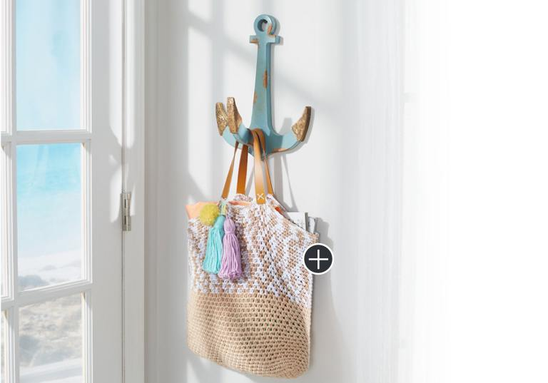 Easy Beaech Days Crochet Tote