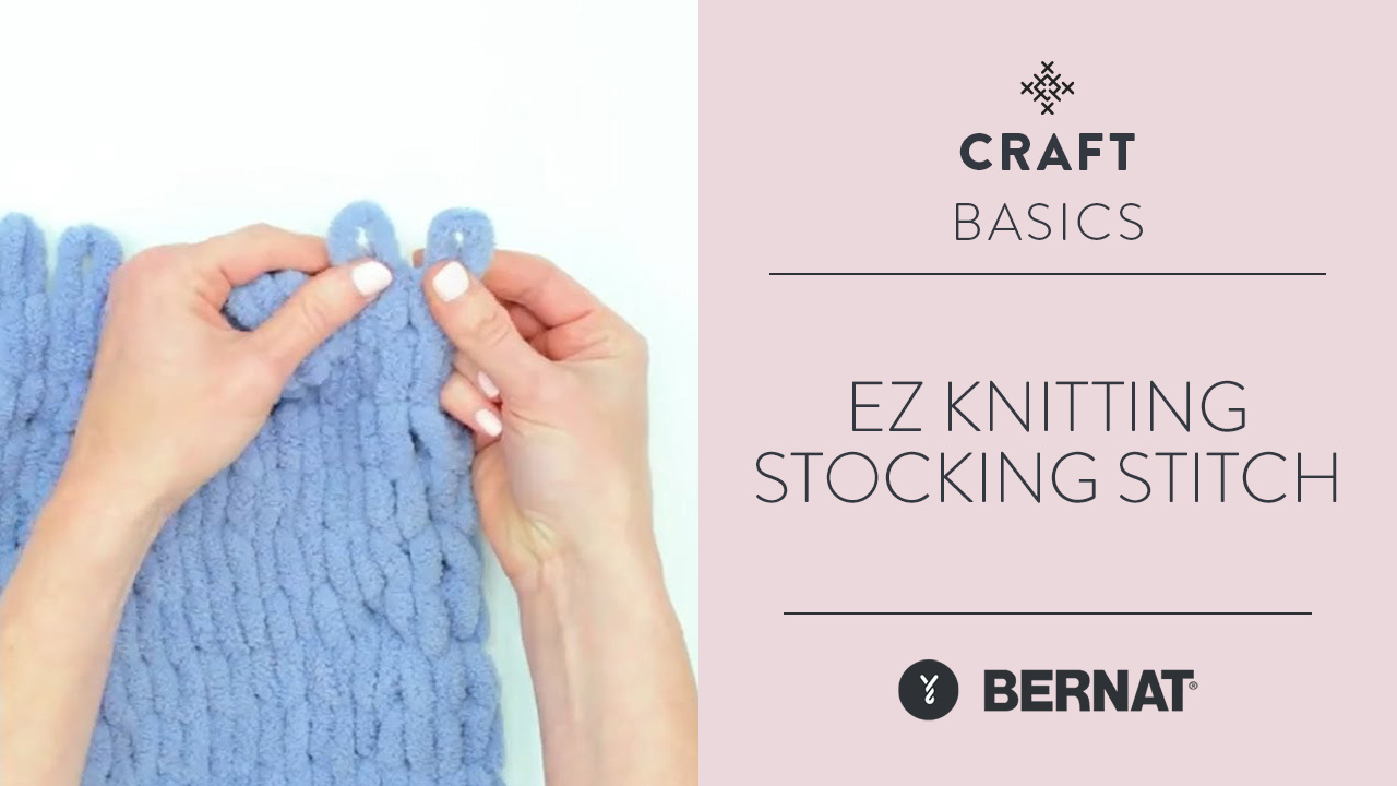 EZ Knitting: Stocking Stitch