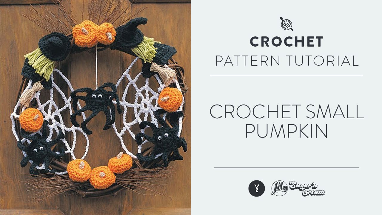 Crochet Small Pumpkin