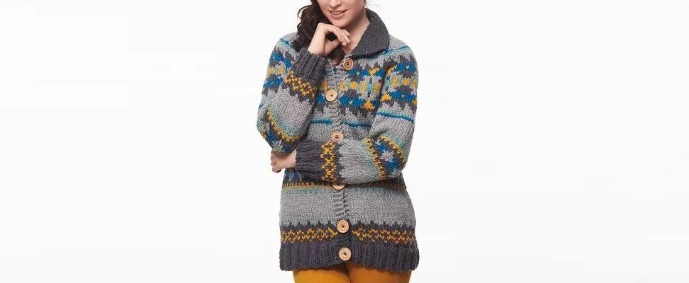 Cowichan Style Raglan Cardigan, I'm The Dude Jacket, Hardcore Pullover Set
