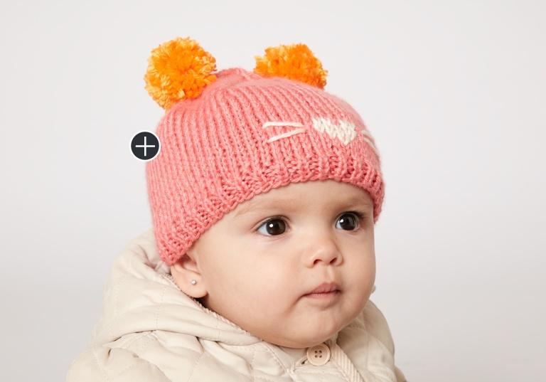Easy Cute As A Kitten Hat