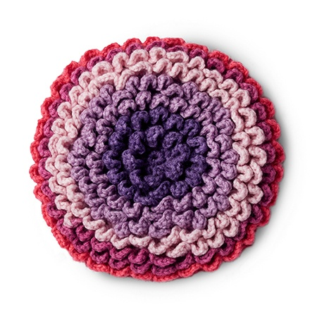 Pop! Petals Blanket Crochet Along with Repeat Crafter Me