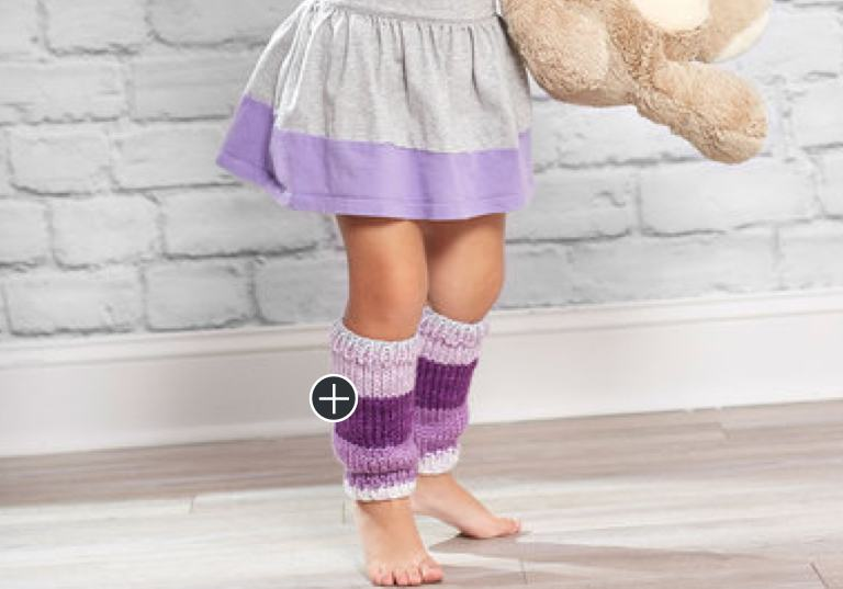 Easy Knit Little Legwarmers