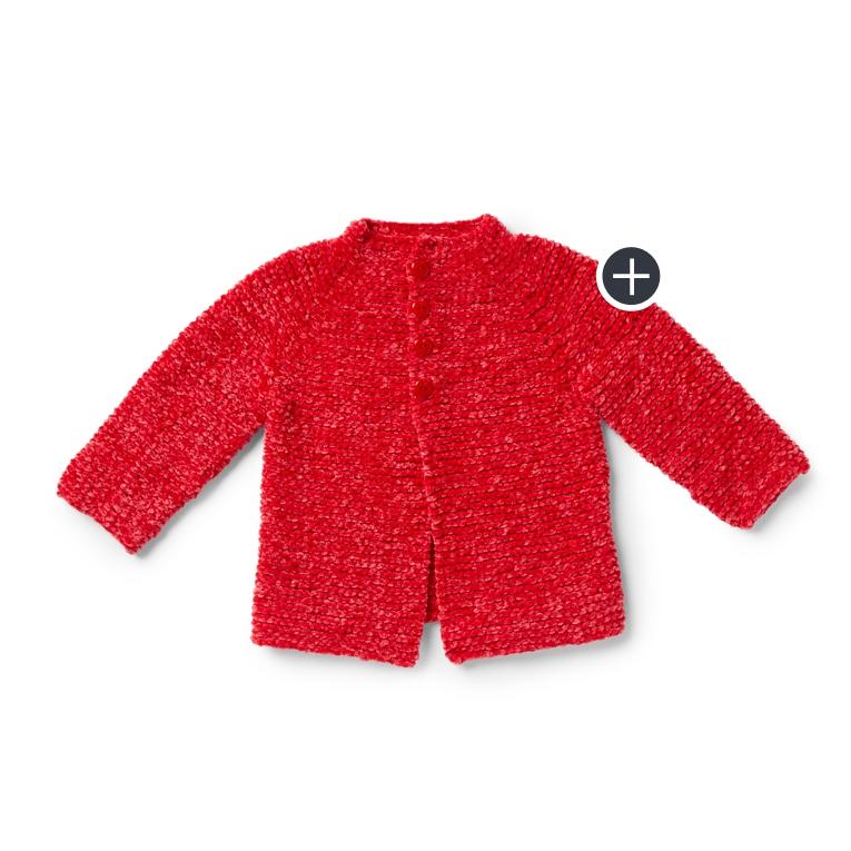 Classic Knit Baby Cardigan