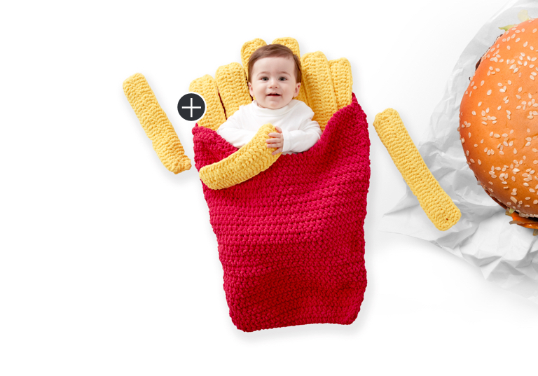 Easy Small Fry Crochet Sleep Sack