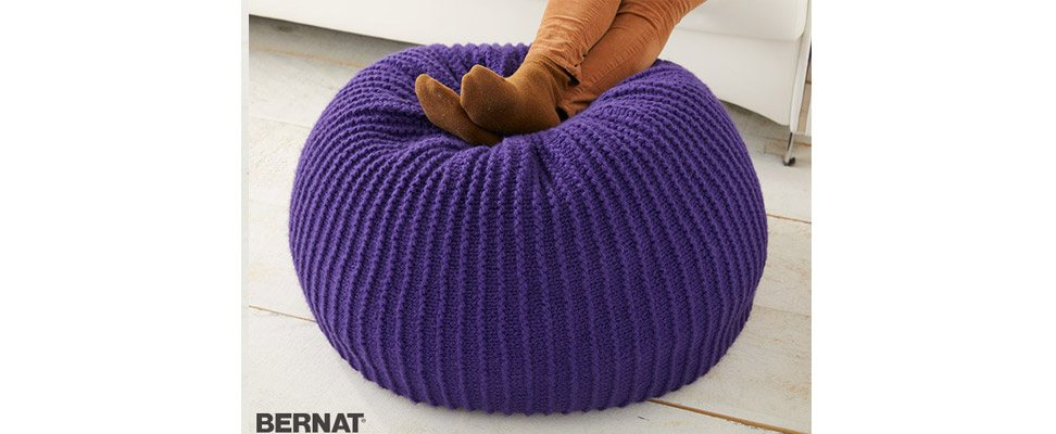 Living Color Pouf