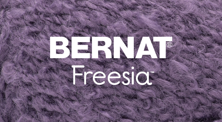 Introducing Bernat Freesia | Yarnspirations